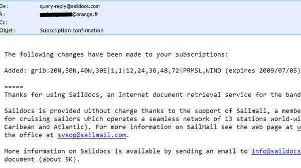 saildocs