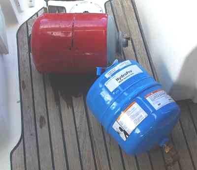 Remplacement du réservoir à vessie
