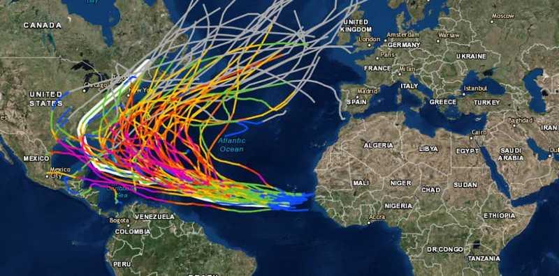 main hurricane