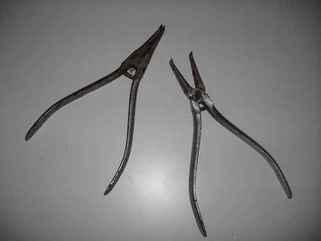 pinces à circlips